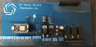 Security Shield soldered