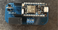 Relay Board soldered and Particle in Place