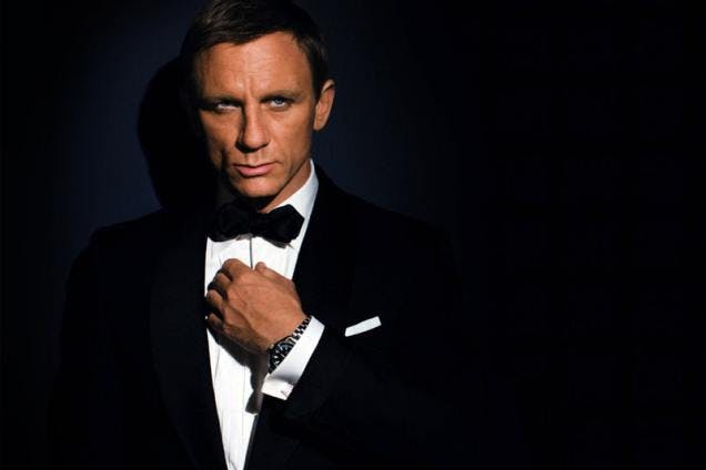I hope Daniel Craig sees this project.