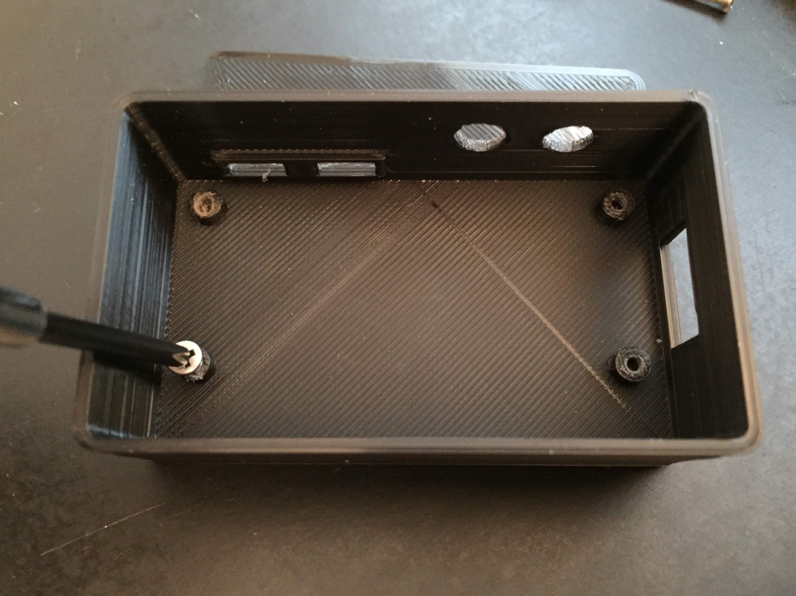 Case Assembly: Thread Mounts First