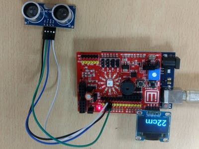 Ultrasonic Distance Sensor & Display