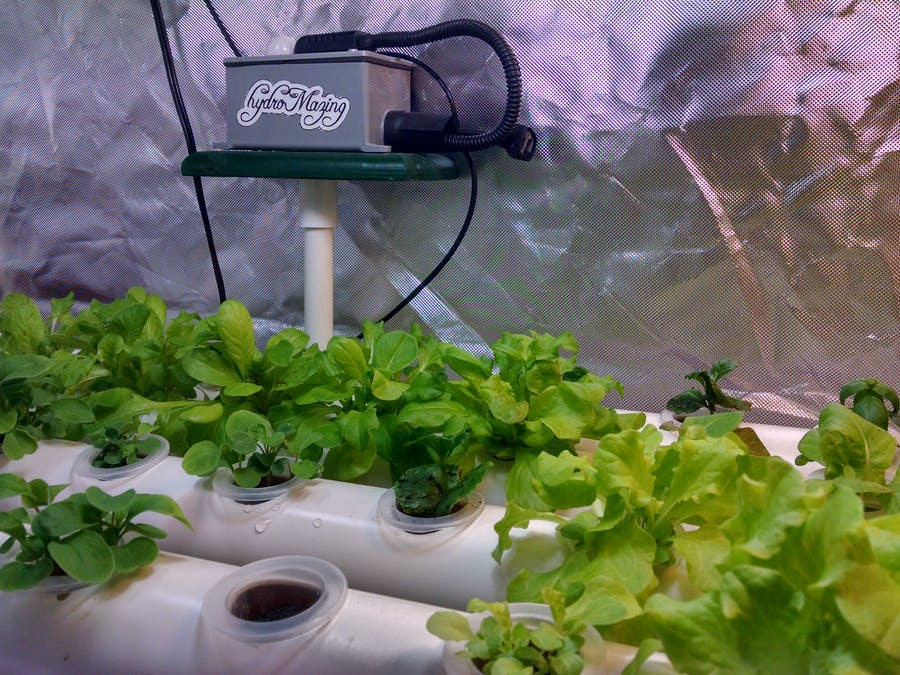 The hydroMazing Smart Garden System - Hackster io