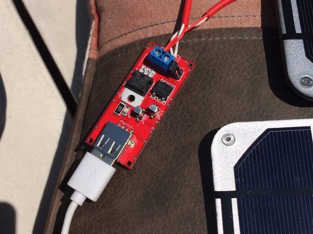 Solar Powered Shield for the ST Nucleo Sensor Shields