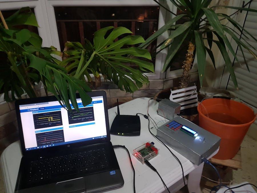 Smart Communicating Irrigation System