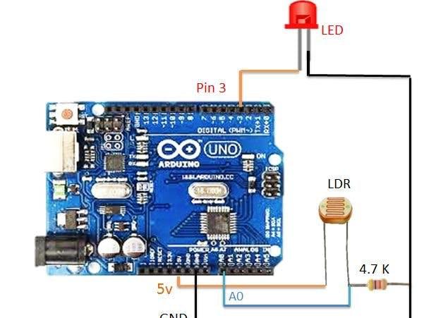 Automatic Street Light Controller - Arduino Project Hub