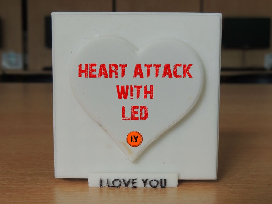 Heart Attack with LED