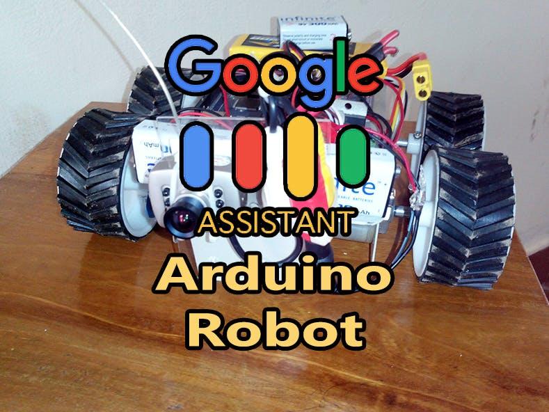 Google Assistant Robot Using Arduino