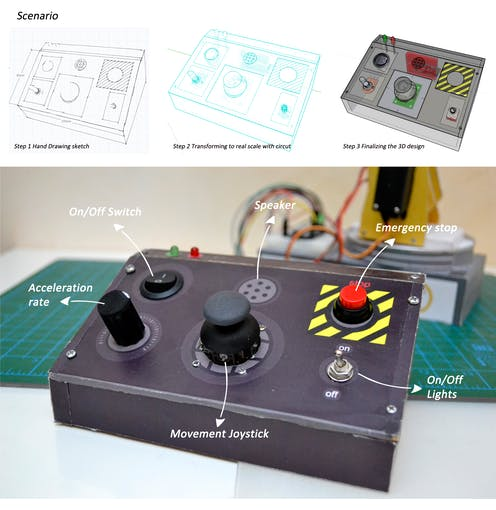 Circuito arduino controller pad project hub