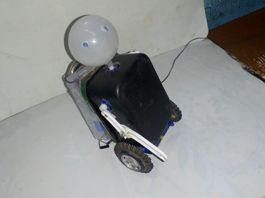 Humaniod A.I Talking Robot With Arduino