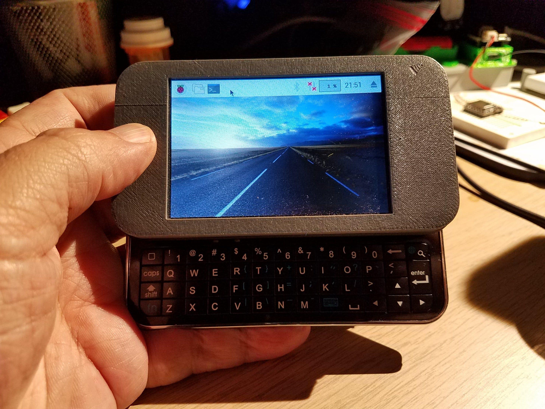Pi Zero Portable Terminal