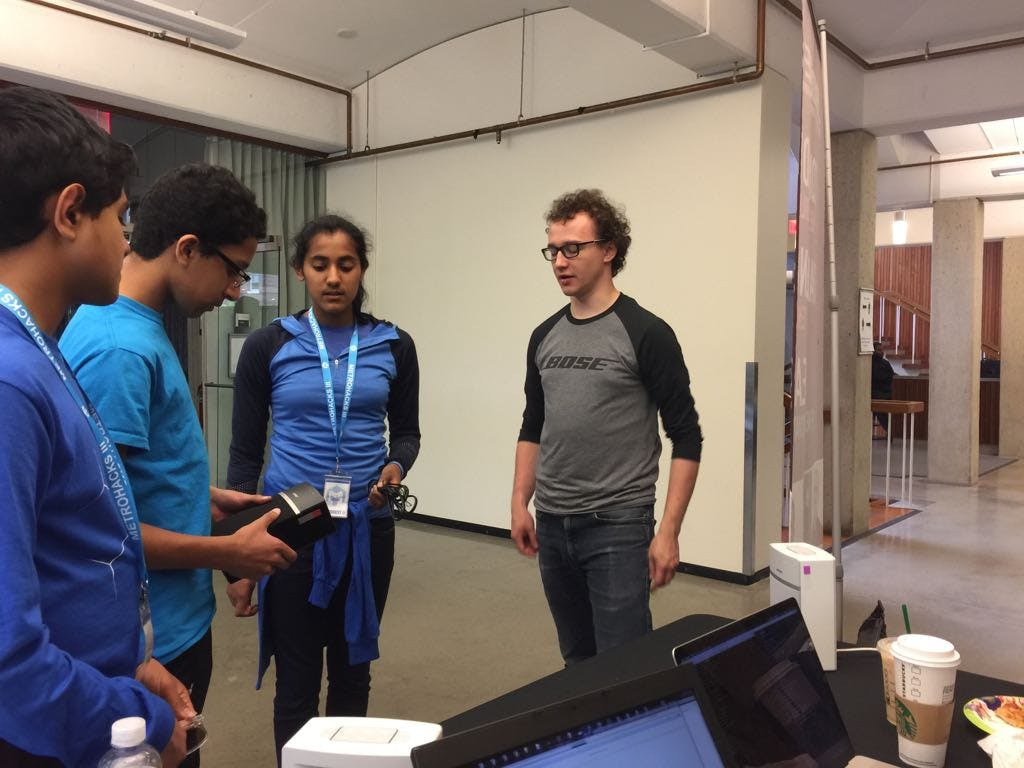 Pitching our Idea to Bose