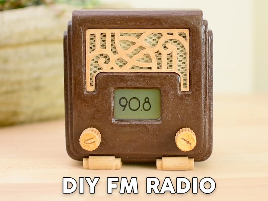 Art Deco FM Radio Project Using Arduino
