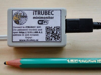 iTRUBEC Minimonitor v1.0 – IoT for Bees