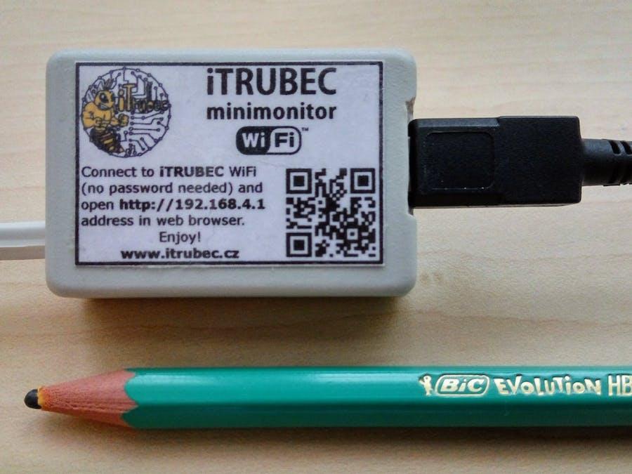 iTRUBEC Minimonitor v1.0 – IoT for Bees