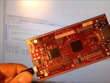 Hercules TMS570LC43 RTOS project - LED Blinky with Two Tasks