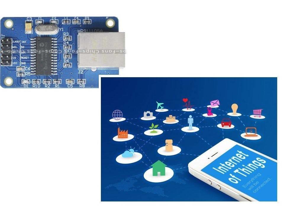IoT with ENC28J60