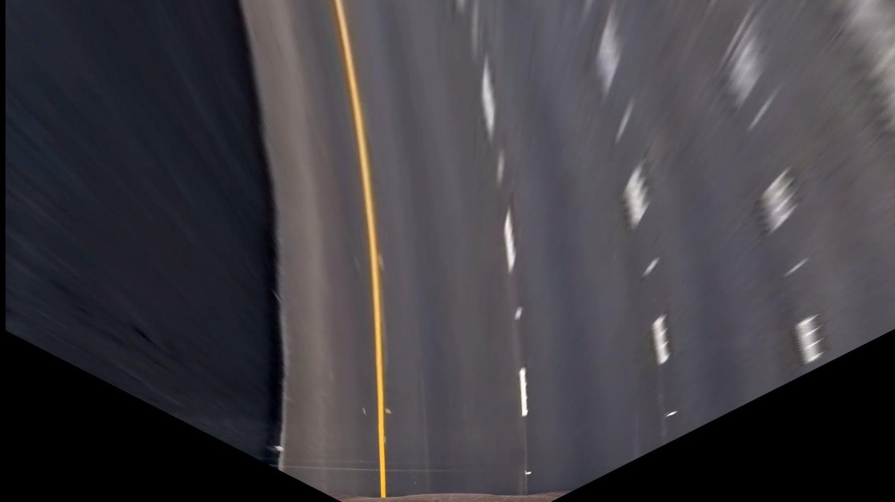 Perspective warped image