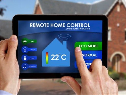 Control del Hogar por Bluetooth
