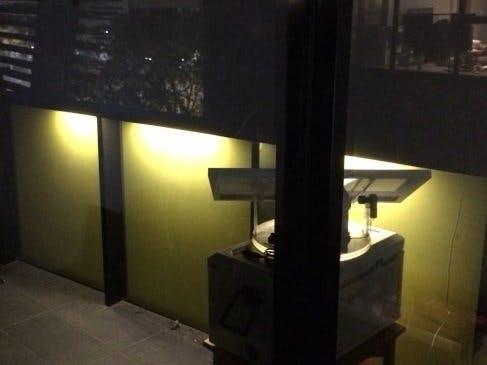 Sensor-Controlled Guard Lights