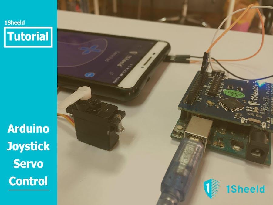 Arduino Joystick Servo Control Using 1Sheeld - Hackster io