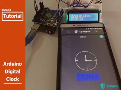 Arduino Digital Clock Using 1Sheeld