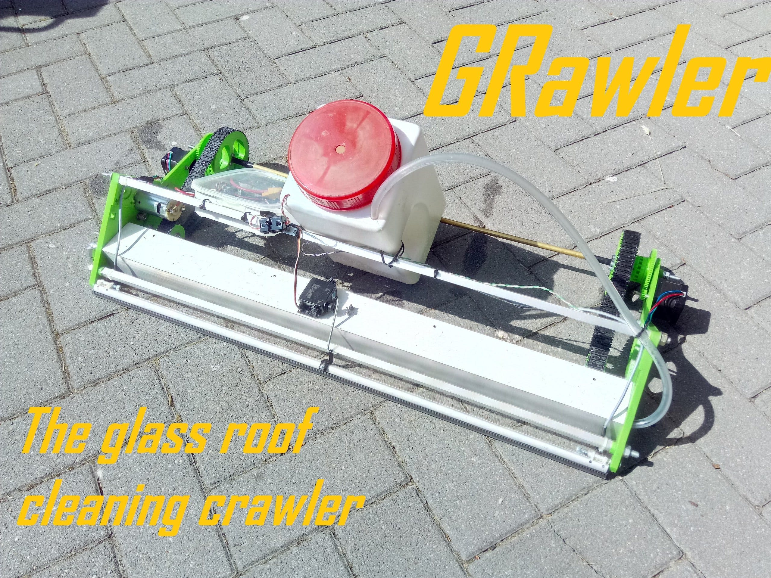 GRawler - The Glass Roof Cleaner
