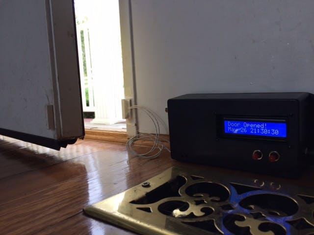 Front door sensor