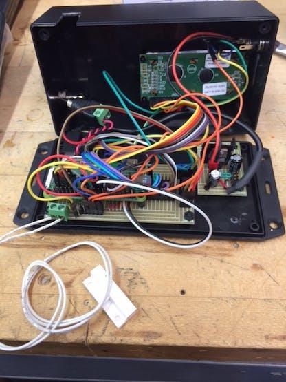 Inside door sensor