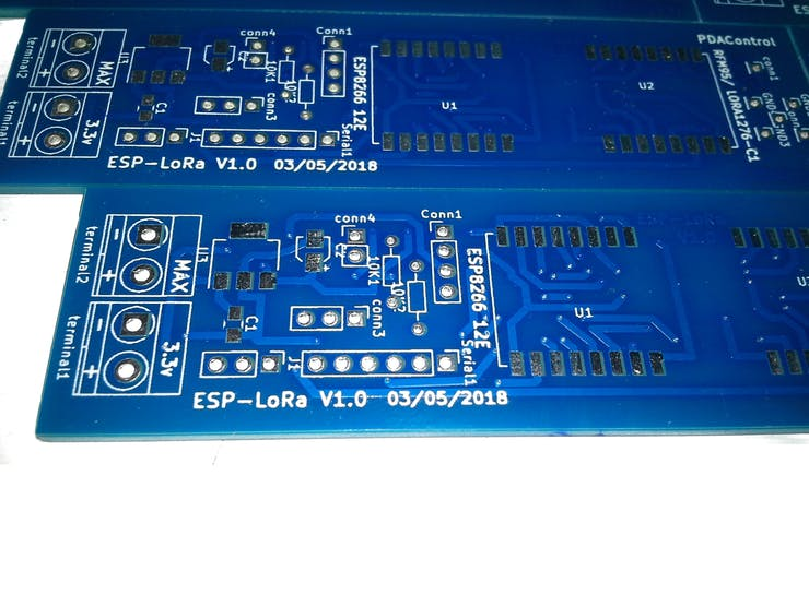 10 PCBs Professionals with Seeed Studio Fusion - ESP-LoRa