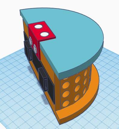 Tinkercad prototype model
