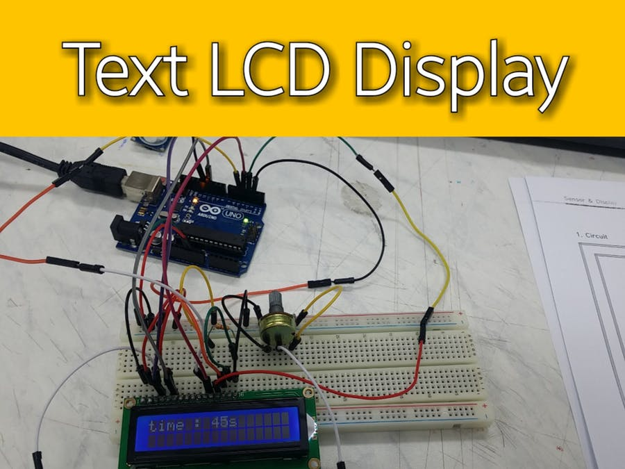 Text LCD Display