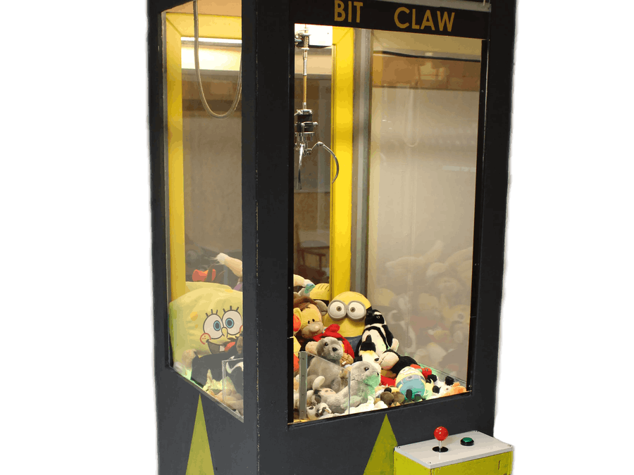 Homemade Claw Machine