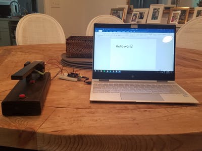 Arduino Telegraph