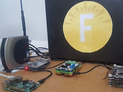 Cryptocurrency ticker raspberry pi