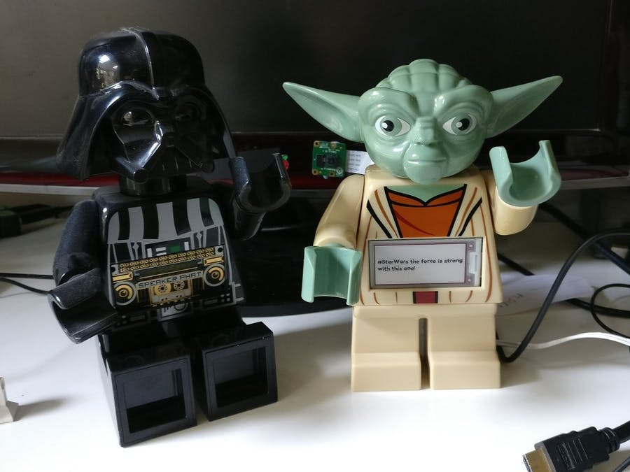 Yoda Twitter Streamer
