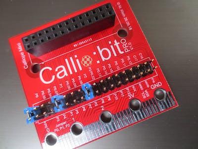 Callio:bit die Micro:bit-Erweiterung für Calliope Mini