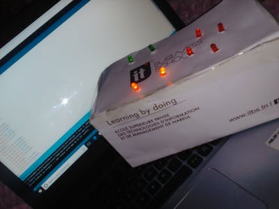 LED Light Using Sound and Light Sensors