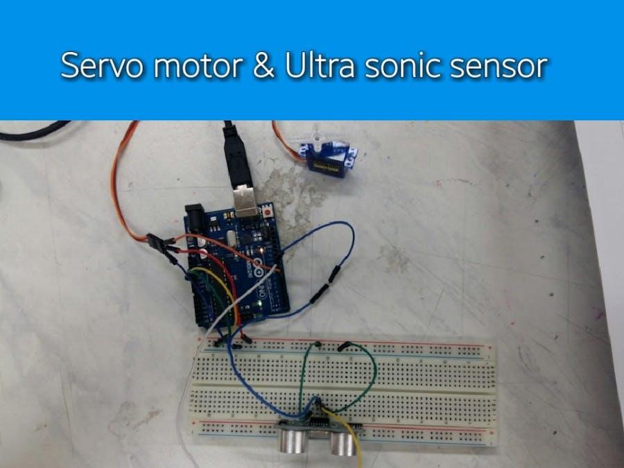 Servo Motor & Ultrasonic Sensor - Hackster io