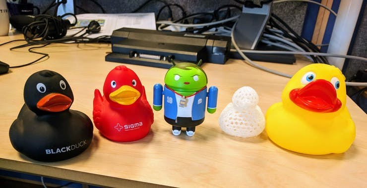 Our rubber duck collection