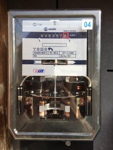 Inductive power meter