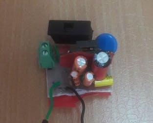 Circuit to convert 240V AC to 5V DC