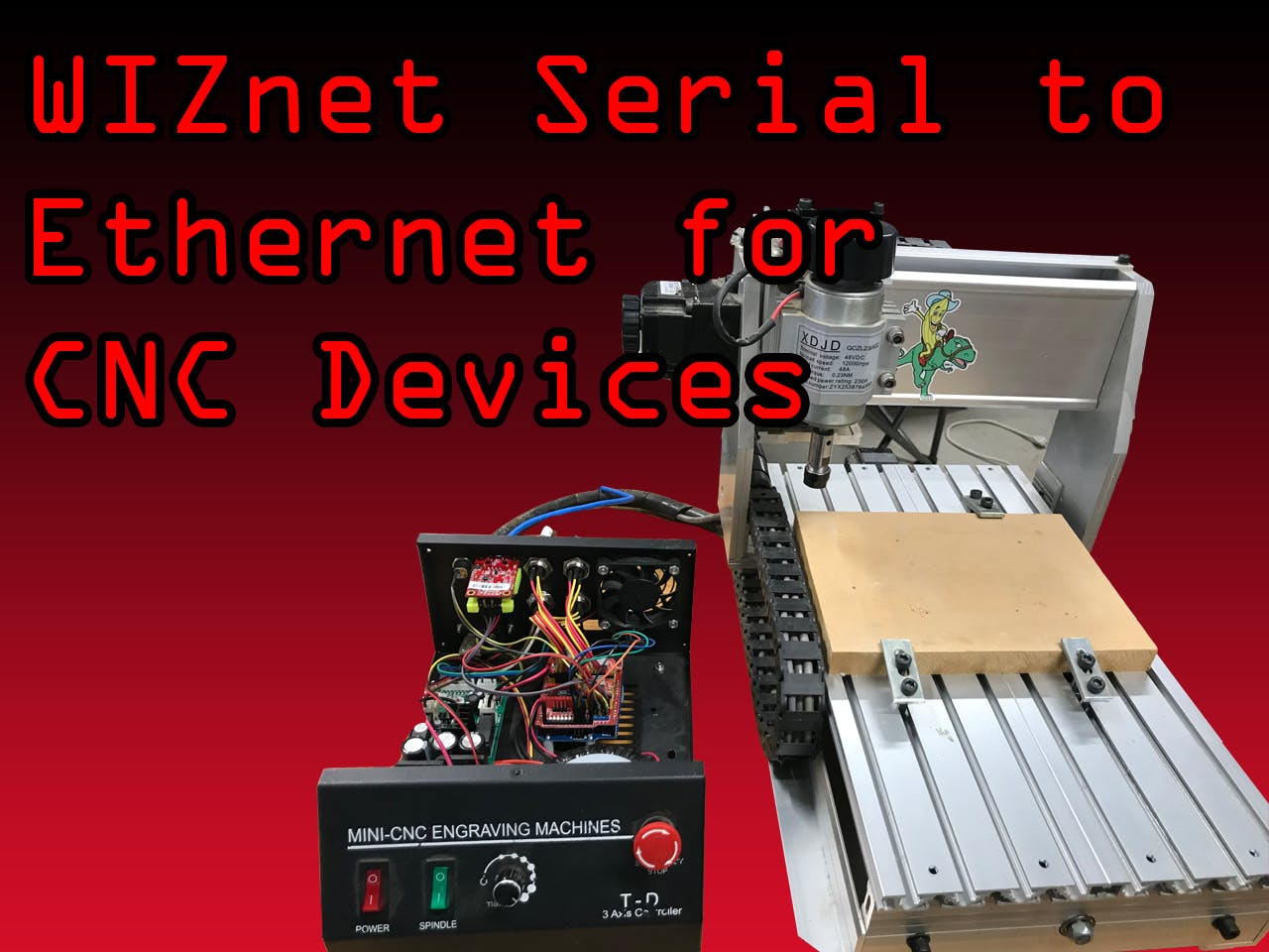 Ethernet Connected CNC Mill or Other Machines