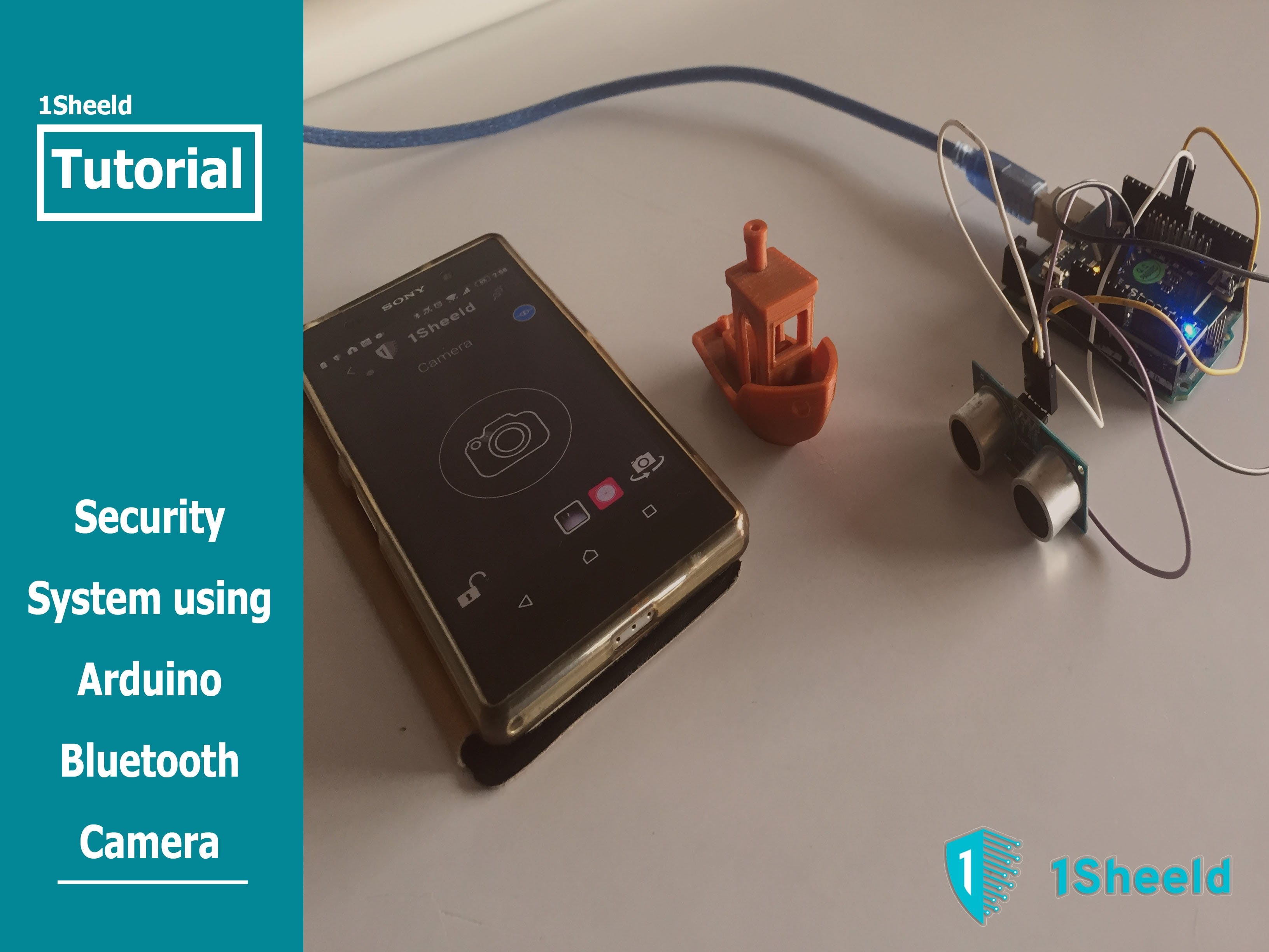 Security System Using Arduino Bluetooth Camera