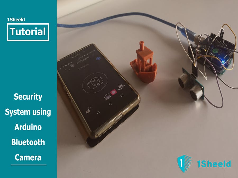 Security System Using Arduino Bluetooth Camera