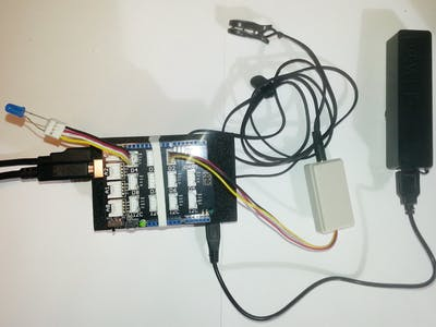 HEARTBEAT SENSOR project