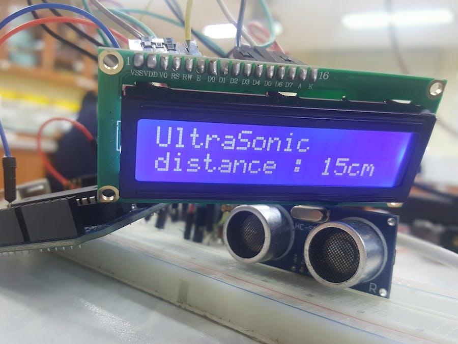 Ultra Sonic sensor (SR04)