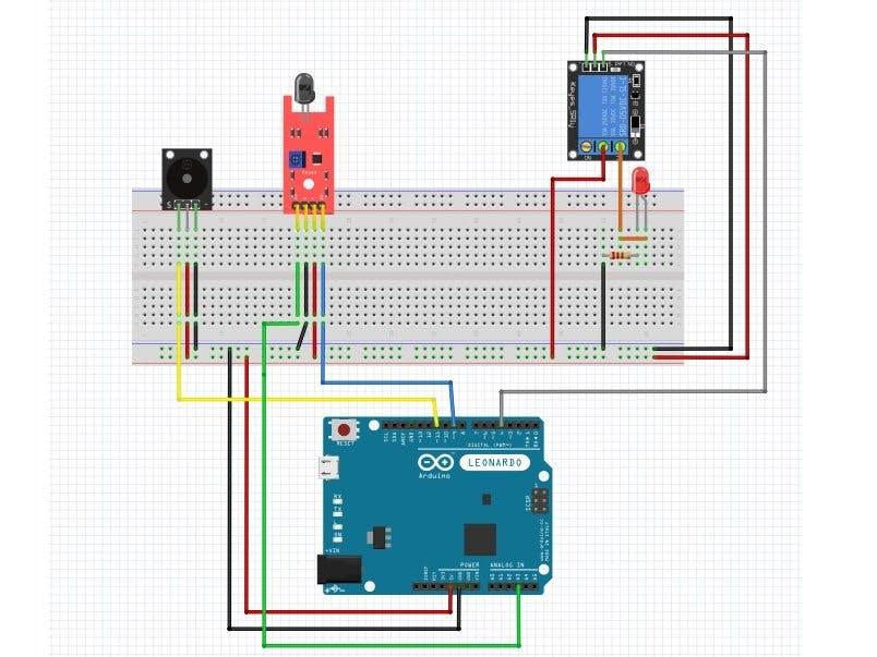 Arduino Fire Alarm - Hackster io