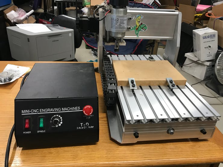 Ethernet Connected CNC Mill or Other Machines - Hackster io