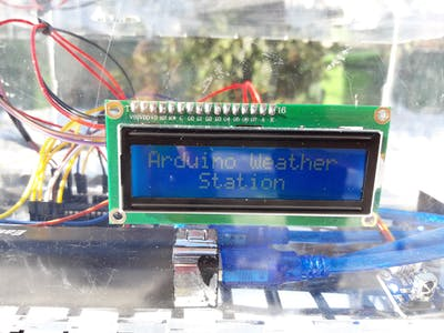 AWS - Arduino Weather Station