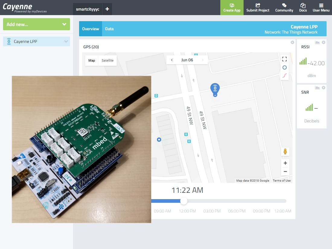 Smart City Asset Positioning With LoRaWAN and WiFi